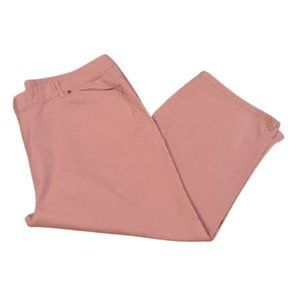[Basic Editions] Pink Capris - Size 24W